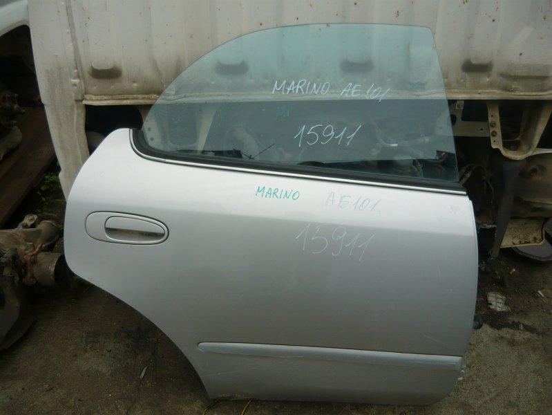 Дверь Toyota Sprinter Marino AE101 задняя правая