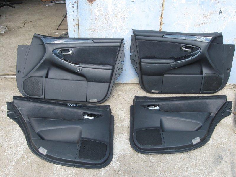 Обшивка дверей Toyota Crown GRS180