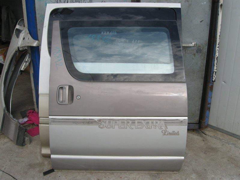 Дверь боковая (раздвижная) Toyota Town Ace YR21 задняя левая