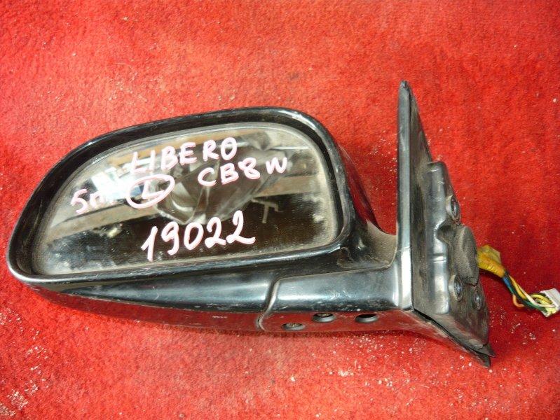 Зеркало Mitsubishi Libero CB8W переднее левое