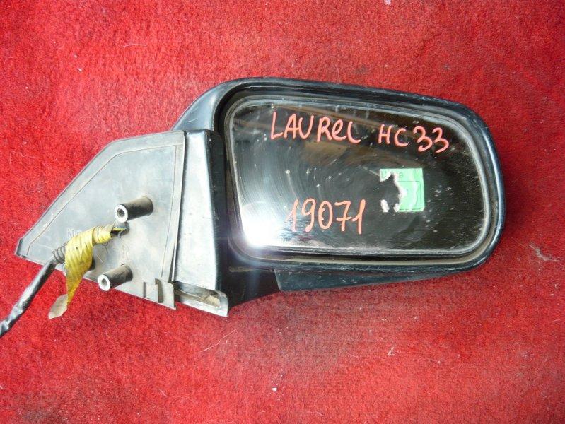 Зеркало Nissan Laurel HC33 переднее правое