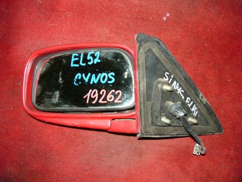Зеркало Toyota Cynos EL52 переднее левое