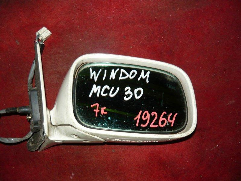 Зеркало Toyota Windom MCU30 переднее правое