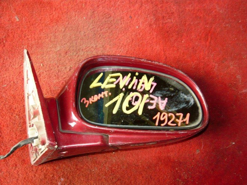 Зеркало Toyota Corolla Levin AE101 переднее правое