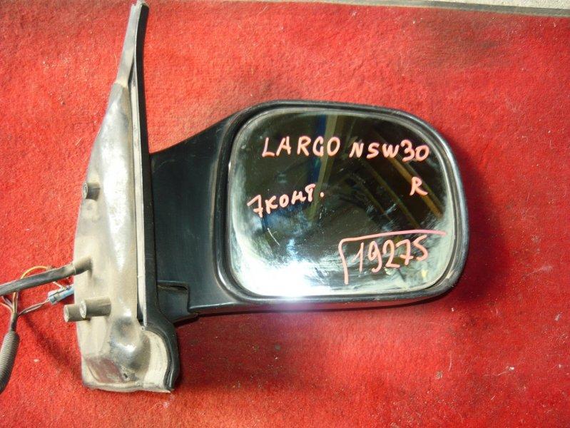Зеркало Nissan Largo NSW30 переднее правое