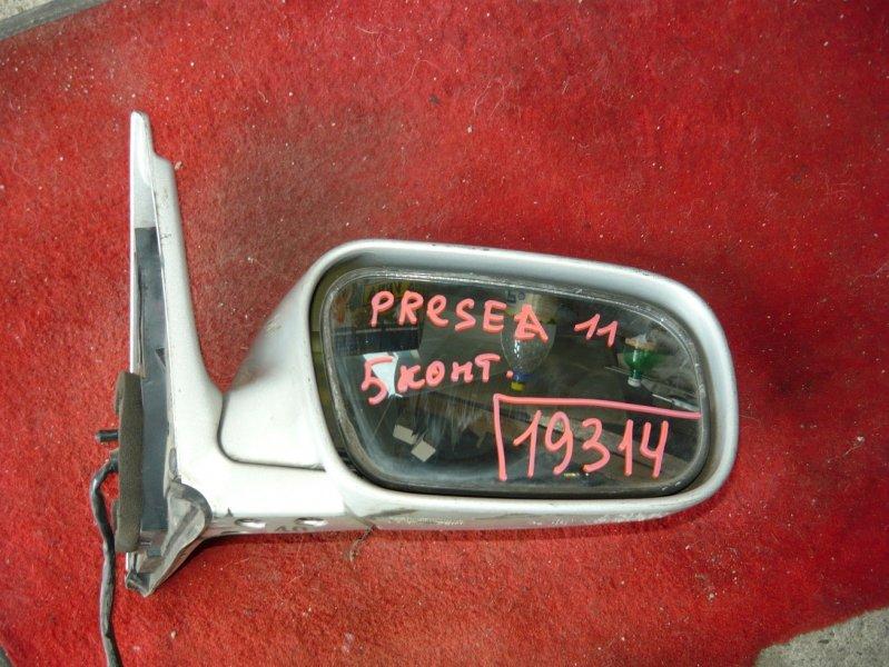Зеркало Nissan Presea PR11 переднее правое