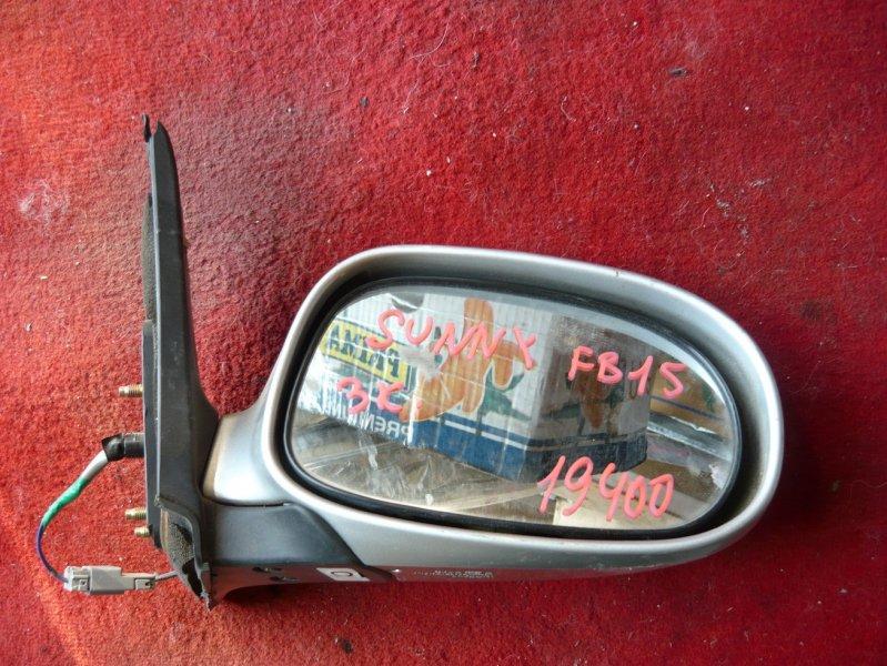 Зеркало Nissan Sunny FB15 переднее правое