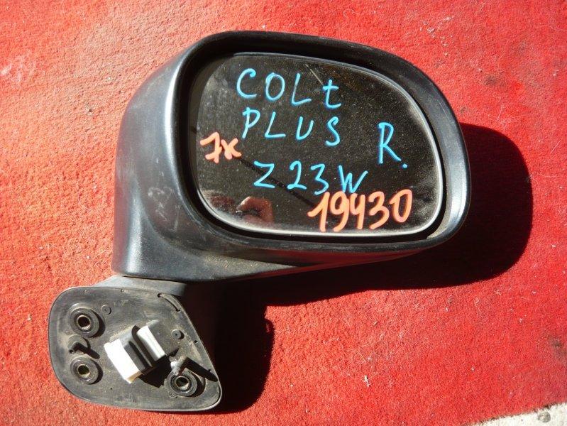 Зеркало Mitsubishi Colt Plus Z23W переднее правое