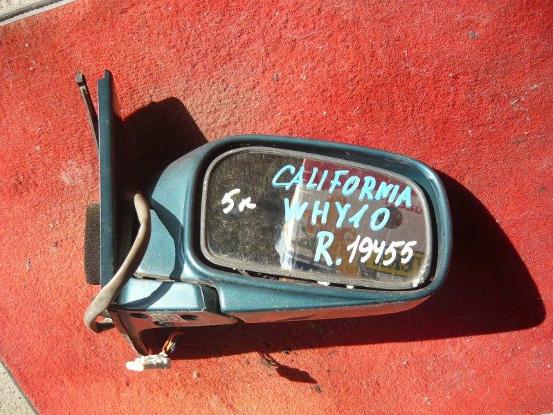 Зеркало Nissan California WHY10 переднее правое