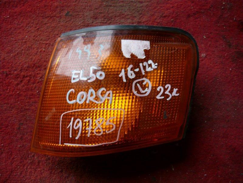 Габарит Toyota Corsa EL51 передний левый