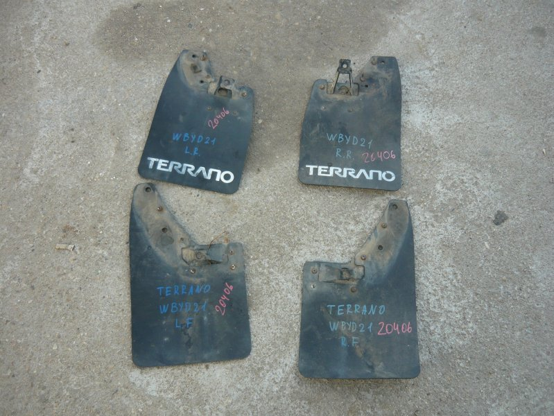Брызговики комплект Nissan Terrano WBYD21