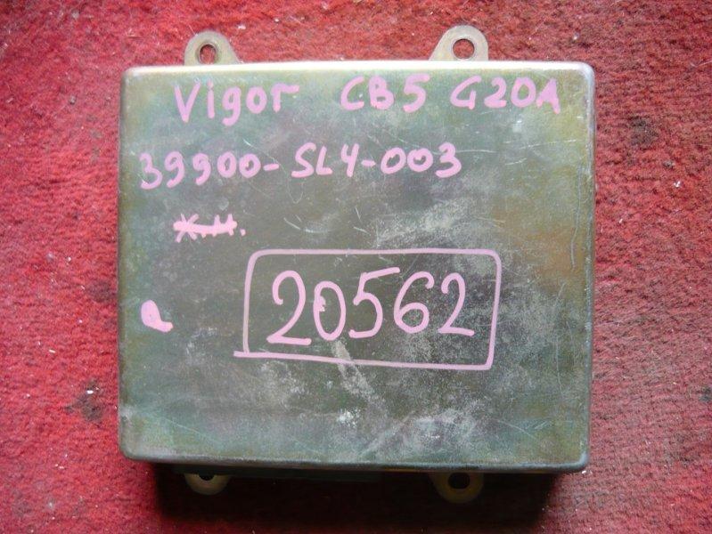 Блок efi Honda Vigor CB5 G20A