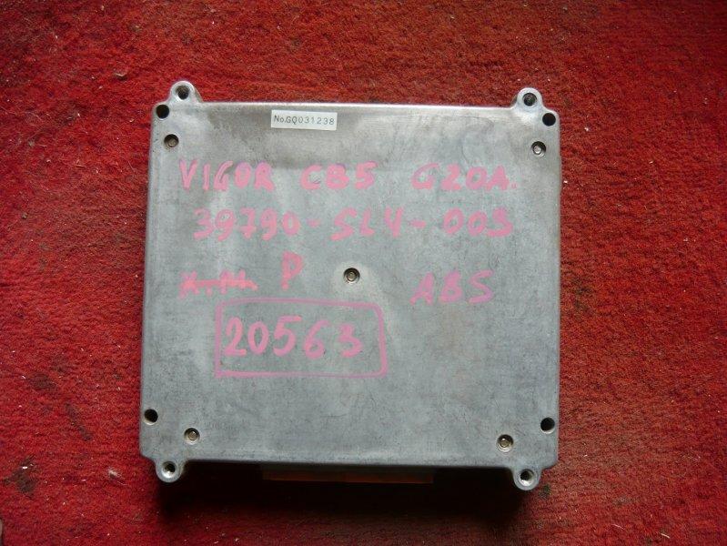 Блок управления abs Honda Vigor CB5 G20A