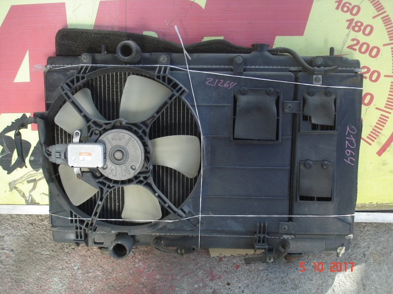 Радиатор основной Mitsubishi Dingo CQ2A 4G93