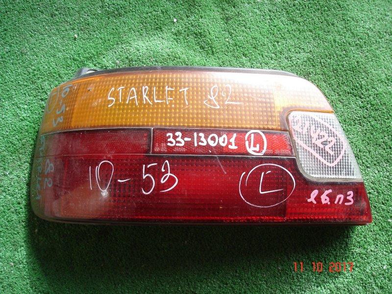 Стоп Toyota Starlet EP82 задний левый