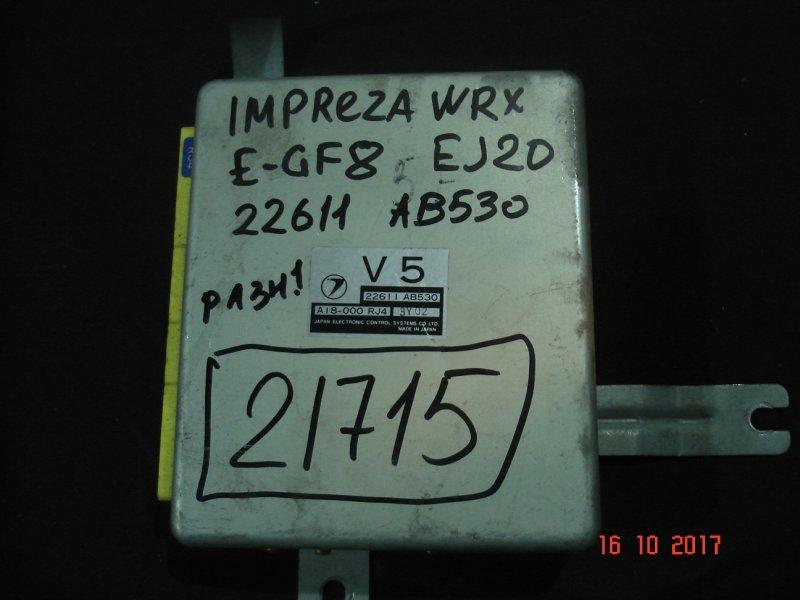 Блок efi Subaru Impreza Wrx GF8 EJ20