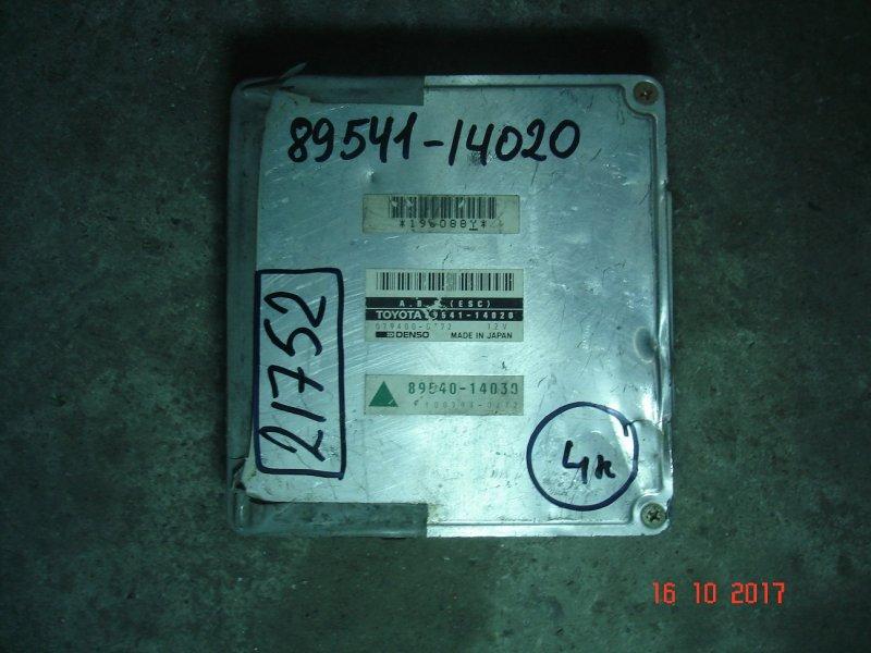 Блок управления abs Toyota Supra MA70 7M