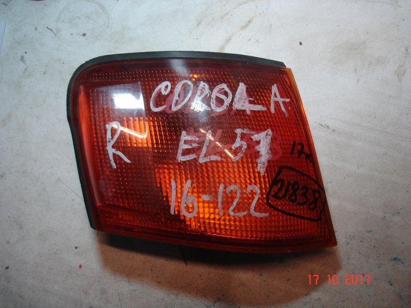Габарит Toyota Corsa EL51 правый