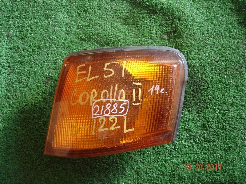 Габарит Toyota Corolla Ii EL51 левый