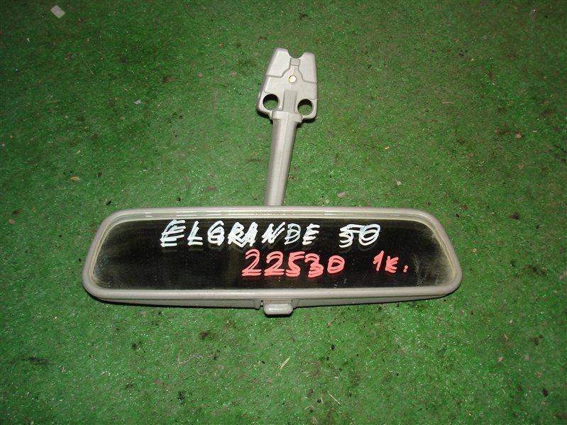 Зеркало заднего вида Nissan Elgrand E50
