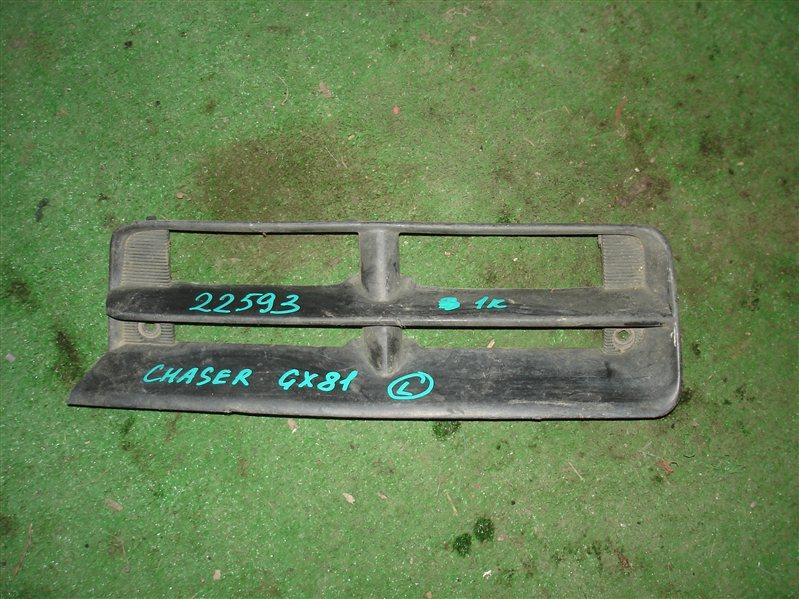 Заглушка бампера Toyota Chaser GX81 левая