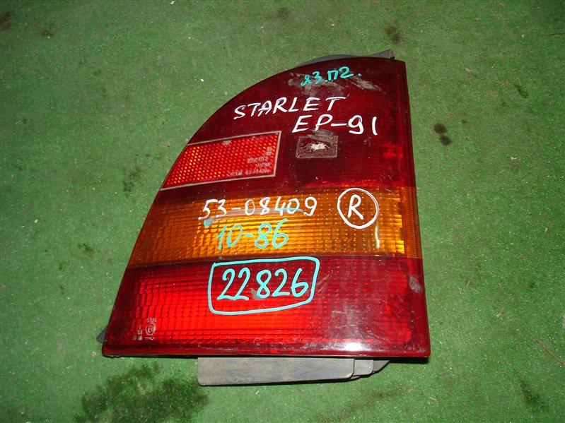 Стоп Toyota Starlet EP91 задний правый