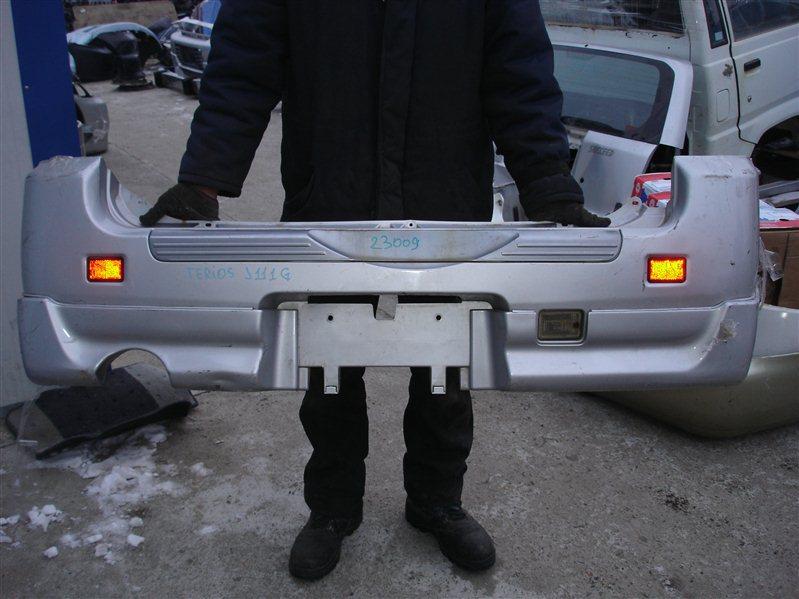 Бампер Daihatsu Terios J111G задний