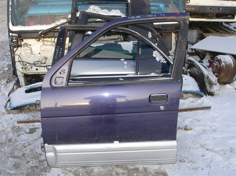 Дверь Daihatsu Terios J100G передняя левая