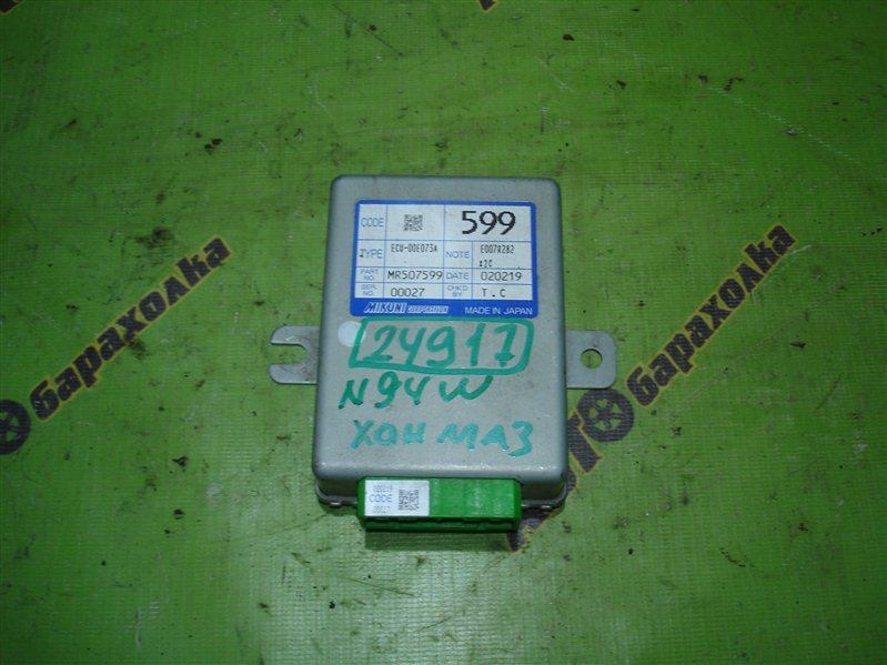 Блок управления акселератором Mitsubishi Chariot Grandis N94W 4G64