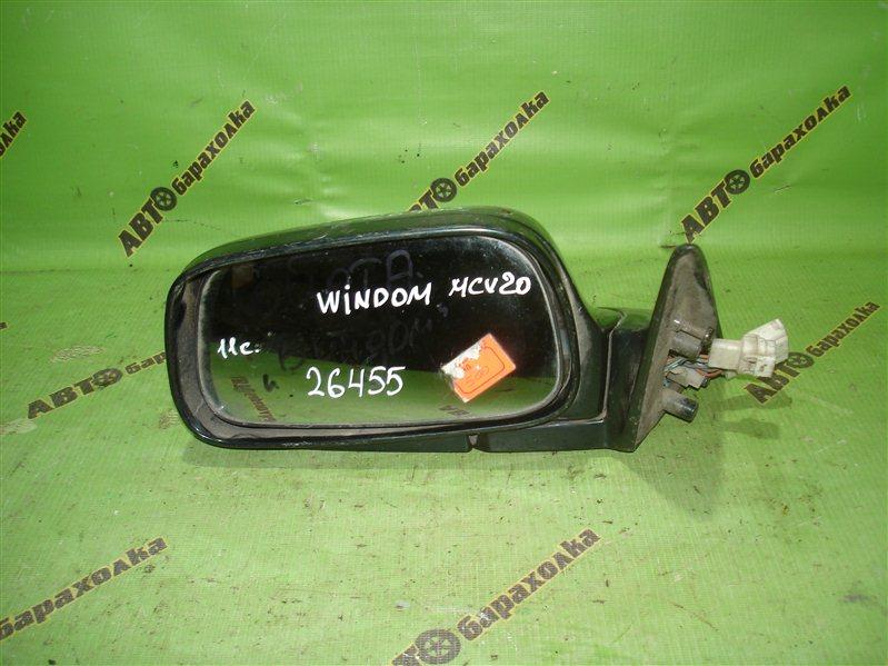Зеркало Toyota Windom MCV20 переднее левое