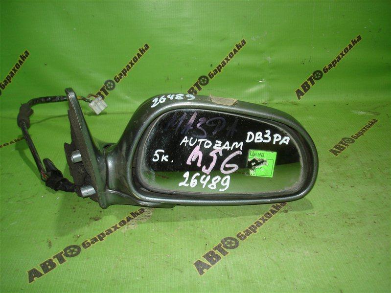 Зеркало Mazda Autozam DB3PA переднее правое