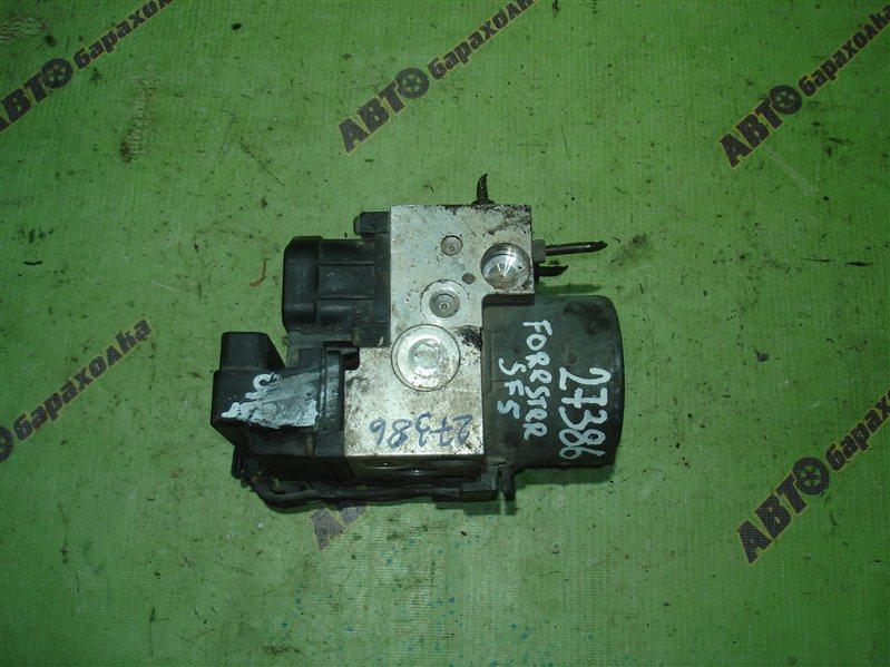Блок abs Subaru Forester SF5 EJ20