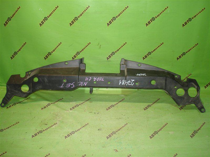 Защита замка капота Nissan Tiida C11
