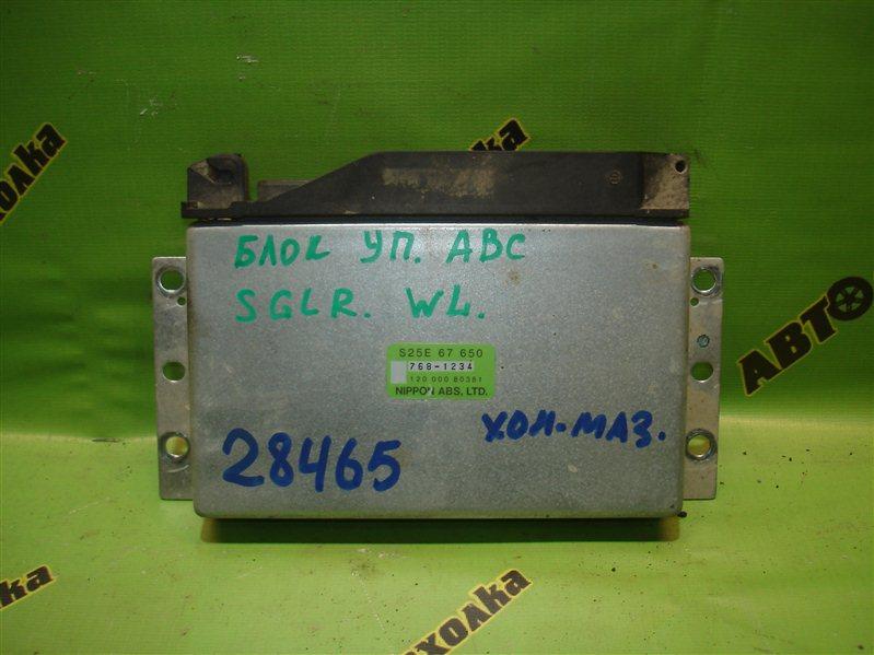 Блок управления abs Mazda Bongo Friendee SGLR WL