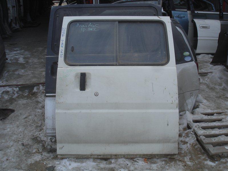 Дверь боковая (раздвижная) Toyota Liteace CR30 левая