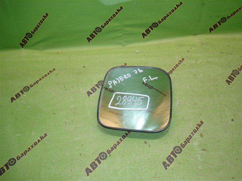 Зеркало-полотно Mitsubishi Pajero V78W переднее левое