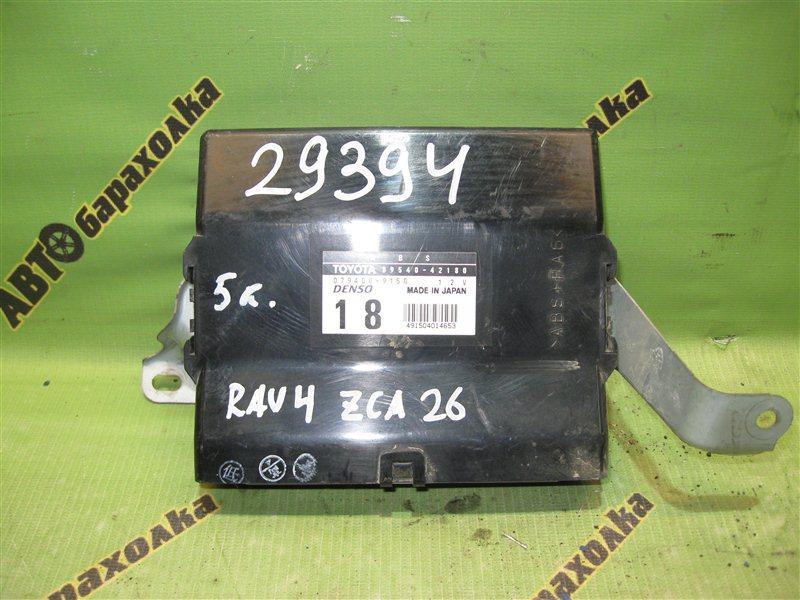 Электронный блок Toyota Rav4 ZCA26