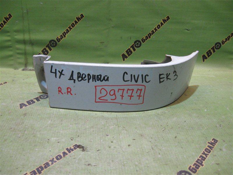 Планка под стоп Honda Civic EK3 задняя правая