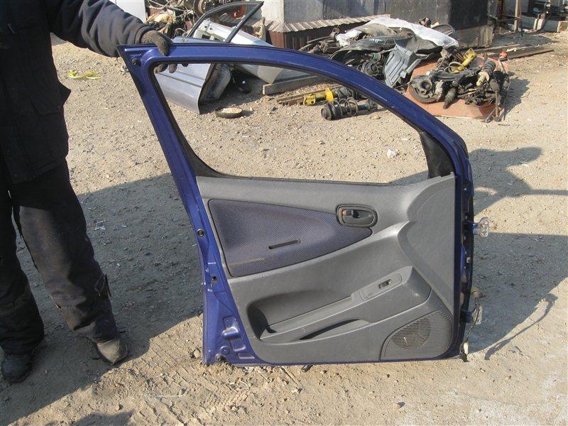 Дверь Daihatsu Yrv M201G передняя левая