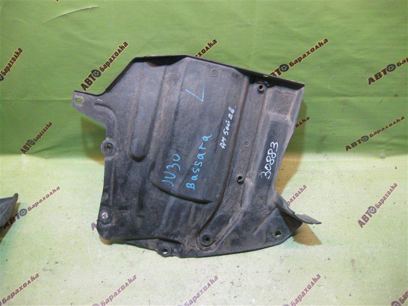 Защита двигателя Nissan Bassara JU30 передняя левая