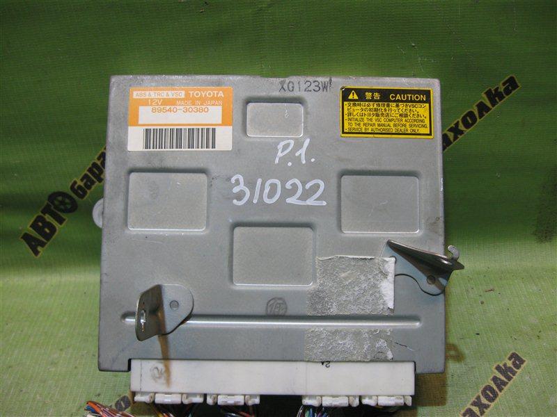 Блок управления abs Toyota Aristo JZS160