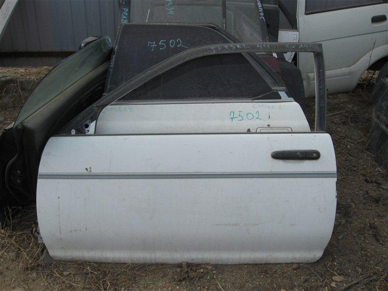 Дверь Toyota Tercel EL41 передняя левая
