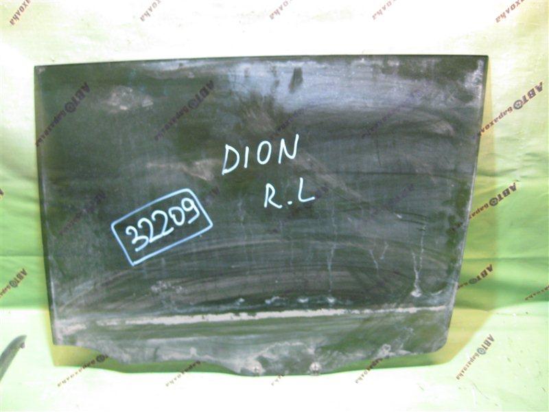 Стекло двери Mitsubishi Dion CR6W заднее левое