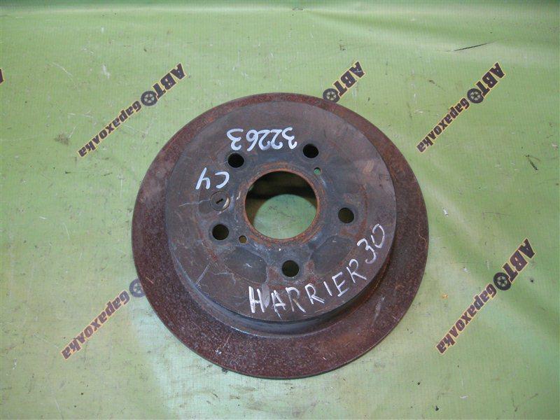 Диск тормозной Toyota Harrier MCU30 3MZ задний