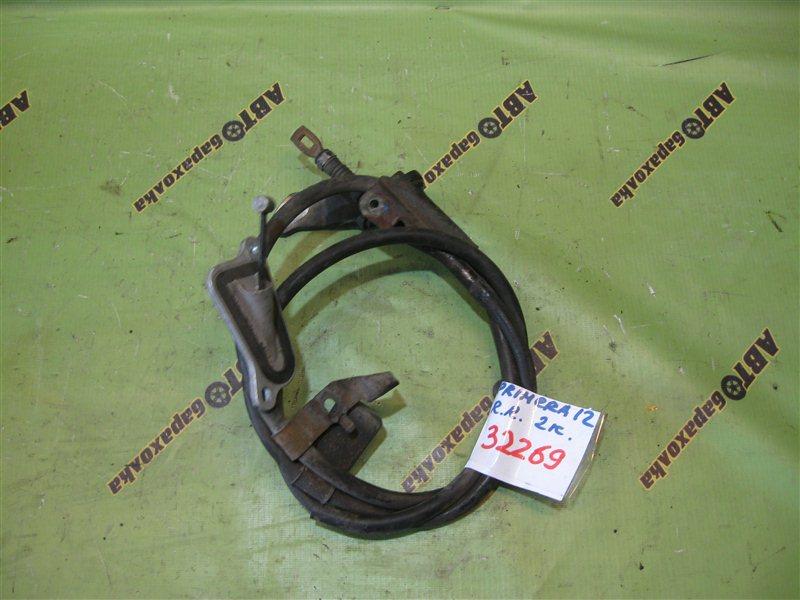 Тросик ручника Nissan Primera TP12 QR20 задний правый