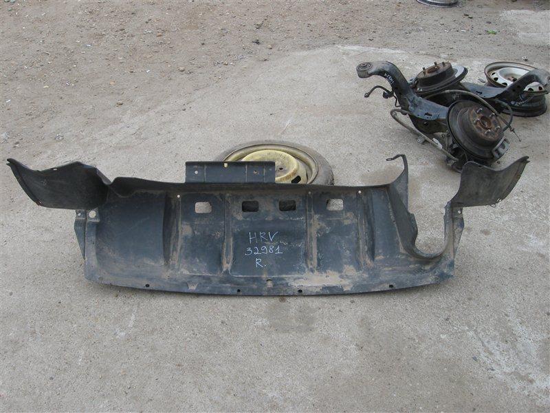 Защита бампера Honda Hr-V GH2 D16A задняя