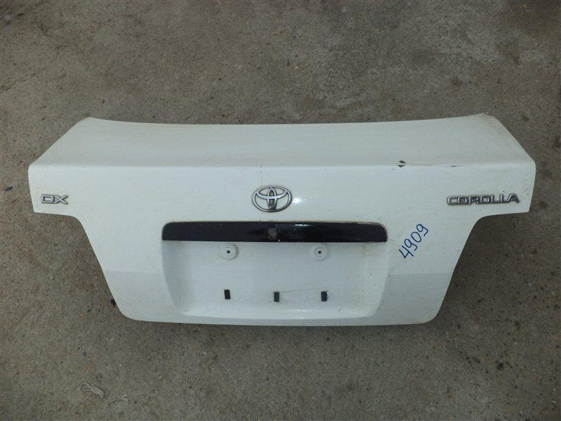 Крышка багажника Toyota Corolla AE110
