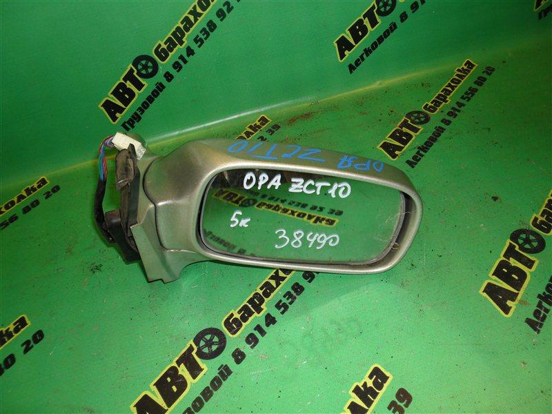 Зеркало Toyota Opa ZCT10 переднее правое