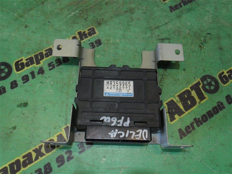 Блок управления abs Mitsubishi Delica PF6W 6G72