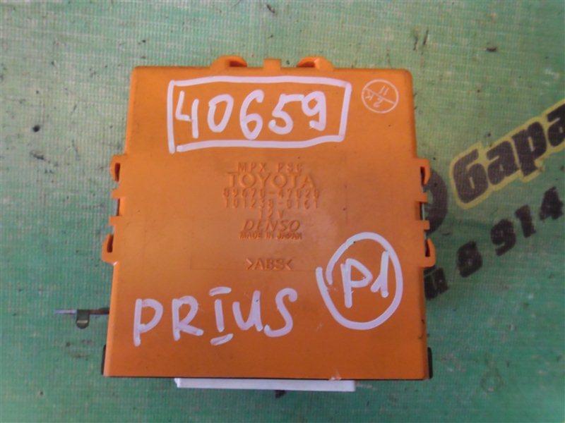 Электронный блок Toyota Prius NHW20 1NZ-FXE